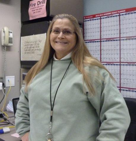 Mrs. Carthey, English teacher