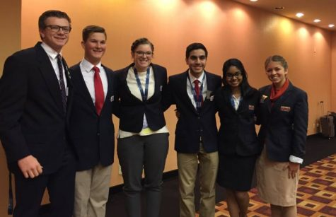 Subha Ravichandran with her fellow BPA state officers