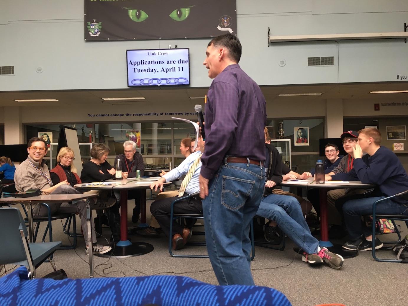 Quiz Bowl Team Faces Off Against Teachers – Eagan Independent