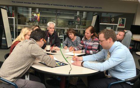 Quiz Bowl Team Faces Off Against Teachers
