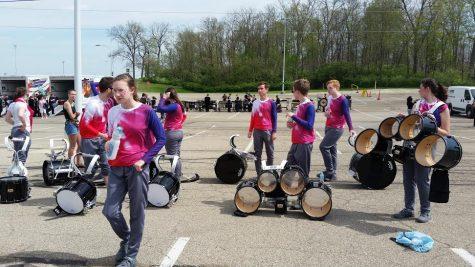 Drumline Travels to Ohio