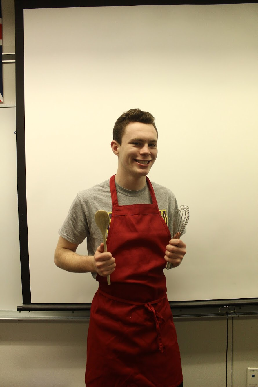 Jack Bechard as a Chef