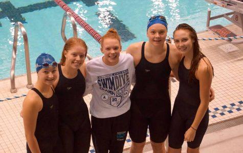 Girls' Swimming Impresses at State