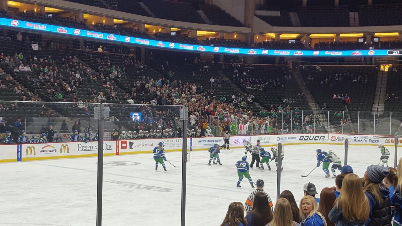 Girls' Hockey at the Xcel Energy Center