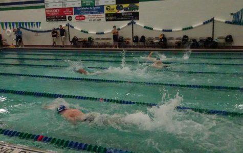 Boys Swimming Dives Into Meet Against Burnsville