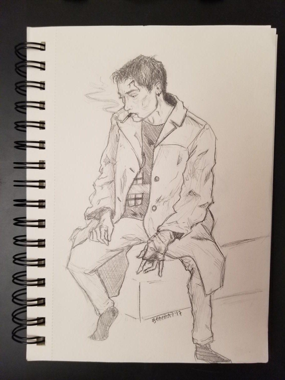 """""""My J.D."""" - Pencil"""